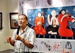 台灣藝術家畫家梁奕焚作品數十萬起跳 捐畫義賣助罕病