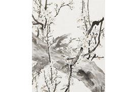 朱宗明中國國畫作品《清芬悠揚》