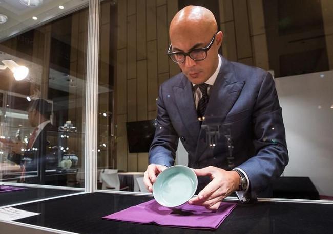 創紀錄!曹興誠北宋汝窯天青釉洗藝術品拍賣11。5億,可買3戶帝寶