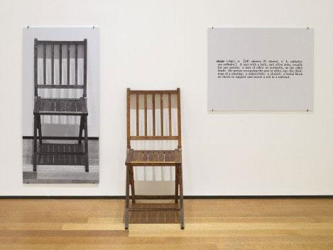 科蘇斯的作品《One and Three Chairs》