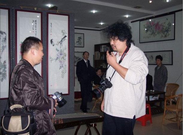 中國大陸書畫藝術家譚鴻斌