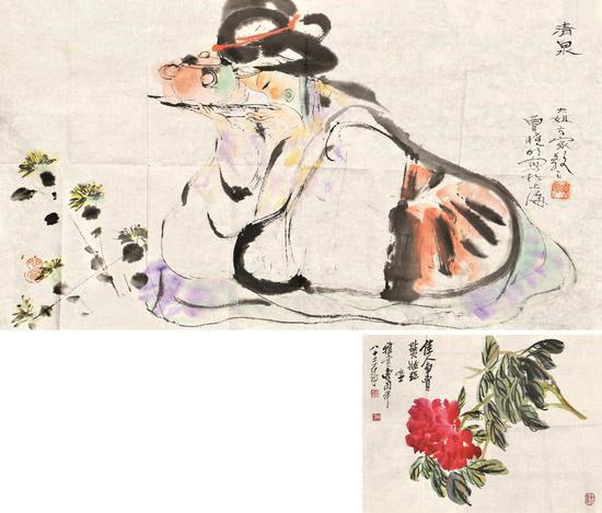 2018年尚敷爾雅春拍12-226程十發-清泉