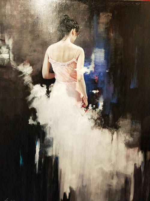 西洋人物油畫作品《璇》「璀璨之真—梁君午特展」