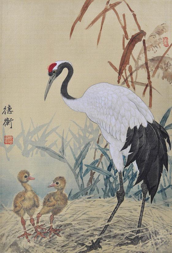 楊德衡|親子情|42x28cm 2018年