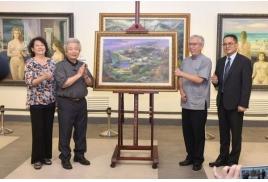 李元亨83藝術創作回顧展,國父紀念館登場