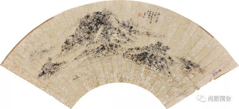 3尚敷精舍春季藝術品拍賣會:Lot034:黃賓虹《湖上小景》