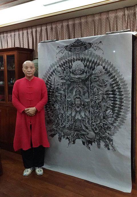 14台灣佛畫藝術家廖湘靈